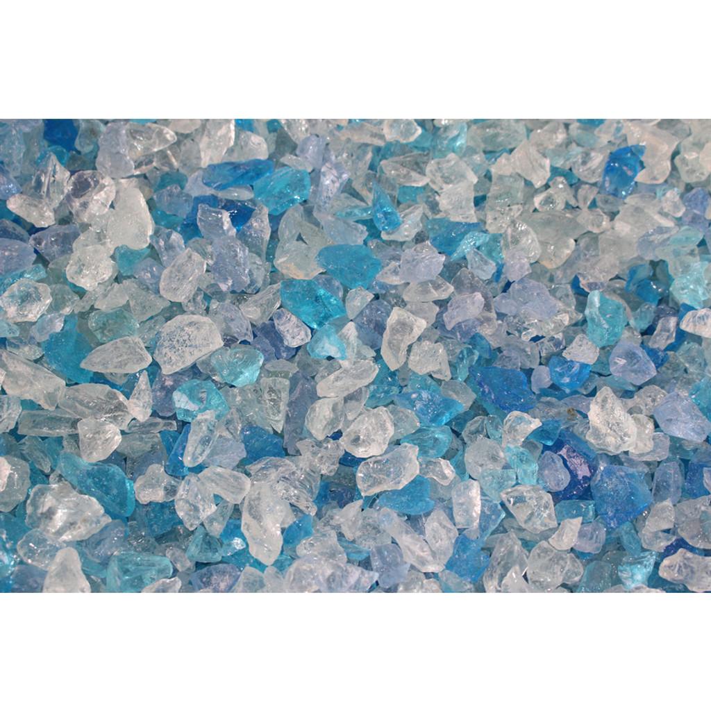 Exotic Pebbles Bahama Blend Glass 1.48lb