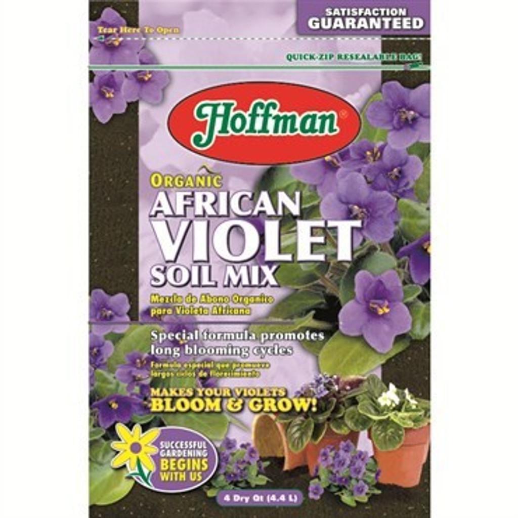 Hoffman Organic African Violet Soil Mix 4qt