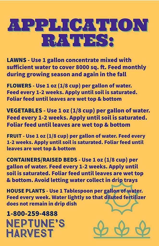 Neptune's Harvest Organic Fish Fertilizer 2-4-1 18oz