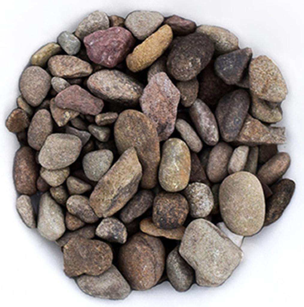 """Pocono River Pebbles 3/4"""""""