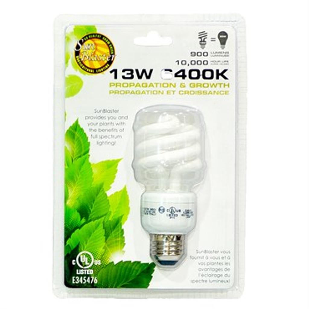 SunBlaster CFL Lamp 13 Watt or 26 Watt