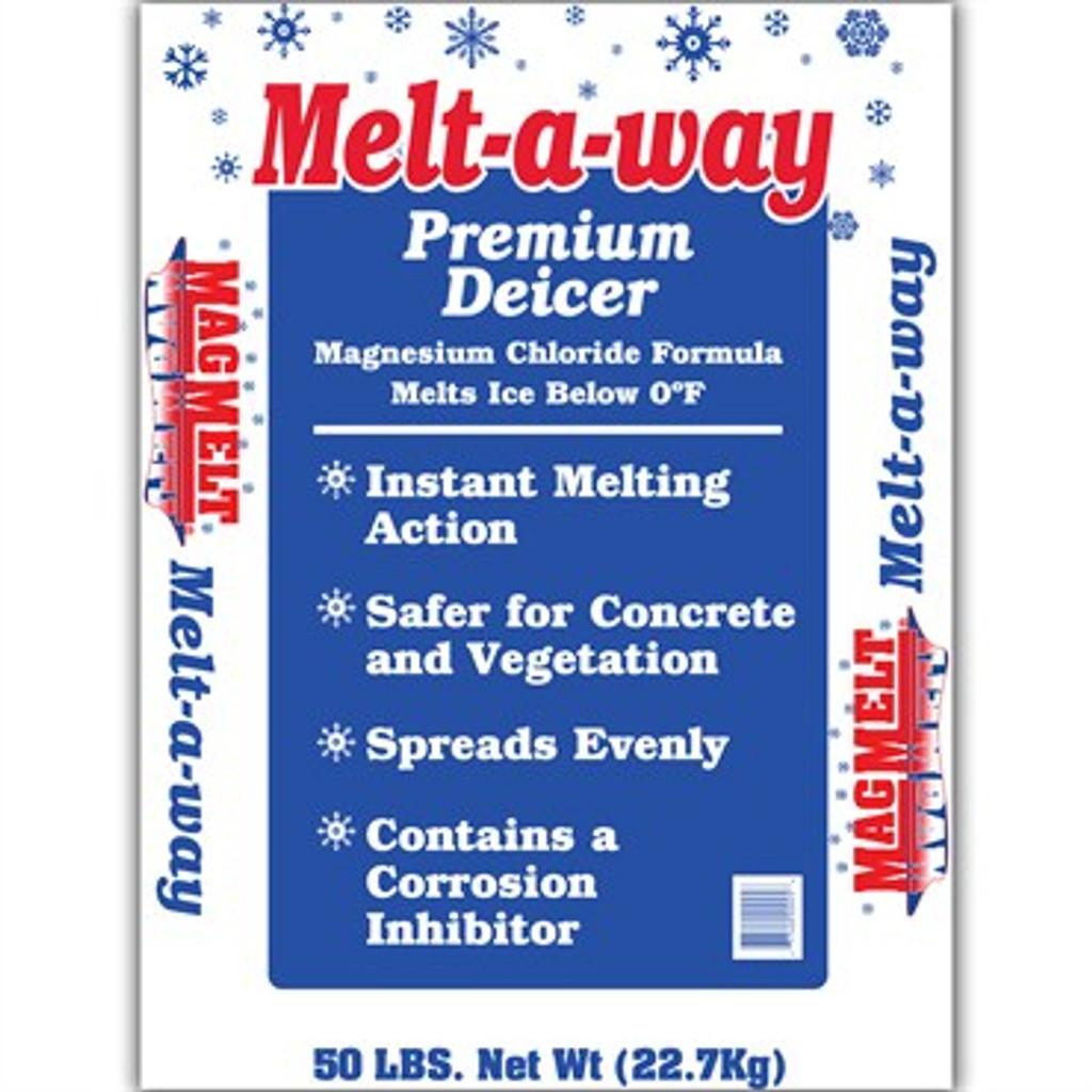 Blue Melt-a-way 50lb Premium De-Icer