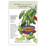 Pepper Chile Jalapeno Early Organic