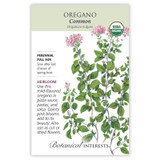 Oregano Common Organic