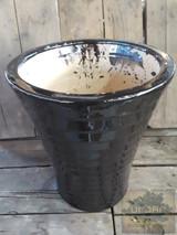 Black Vertical Pot
