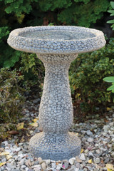 Pebble Bird Bath 26""