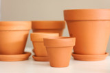 "Terracotta Pots & Saucers 1.5"" to 20"""