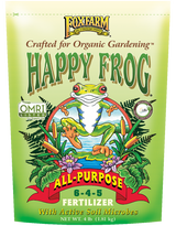 FoxFarm Happy Frog All-Purpose Fertilizer 6-4-5 4lb