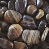 Exotic Pebbles Polished Striped 5lb