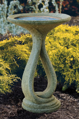 Ribbon Bird Bath 28""