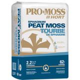 PRO-MOSS Horticultural Sphagnum Peat Moss 2.2cf