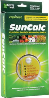 Luster Leaf SunCalc Precision Sunlight Measuring Device
