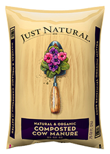 Just Natural Organic Composted Cow Manure .75cf
