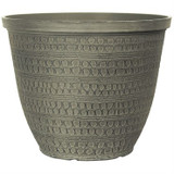 Ashbridges Planter Shaded Greystone 12""