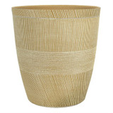 Planter Sandthatch Powdered Ginger 14""