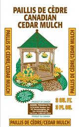 Howe Mulch Brown Cedar 2cf