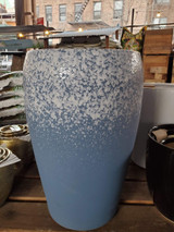"Ceramic Snow Blue Pot 22.5"" and 23"""
