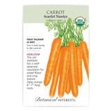 Scarlet Nantes Carrot Seeds Organic