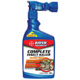Bayer Bio-Advanced Insect Killer for Soil & Turf Spray with Hose-End Sprayer 32oz