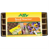 Jiffy Strips Seed Starter with Humidity Dome 32 Cells