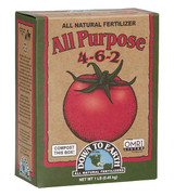 Down To Earth  All Purpose All Natural Fertilizer Mix 4-6-2 1lb
