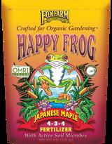 FoxFarm Happy Frog Japanese Maple Fertilizer 4-3-4 4lb