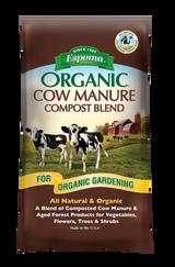 Espoma Organic All Natural Cow Manure Compost Blend 1cf