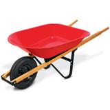 Wheelbarrow Red Capacity 4cf