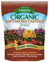 Espoma Organic Earthworm Castings 4qt