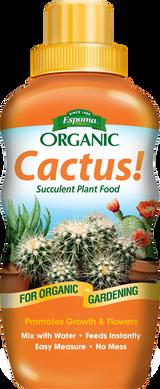 Espoma Organic Cactus! Succulent Plant Food 8oz