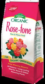 Espoma Organic Rose-tone All-Natural Plant Food 4-3-2 4lb or 8lb