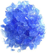 Exotic Pebbles Glass Pebbles Ocean Blue 2lb Bag