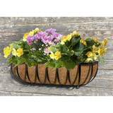 Planter Trough with Coco Liner 36""