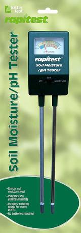Luster Leaf Rapitest Soil Moisture/PH Tester