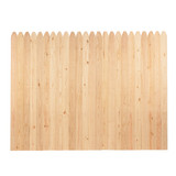 Stockade Fence Cedar or Spruce 6'x8'