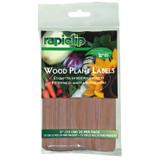 """Luster Leaf Wood Plant Labels 4"""" 24 pack"""