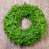 Balsam Wreath, Undecorated