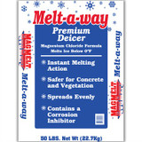 Blue Melt-a-way 50lb Premium De-Icer