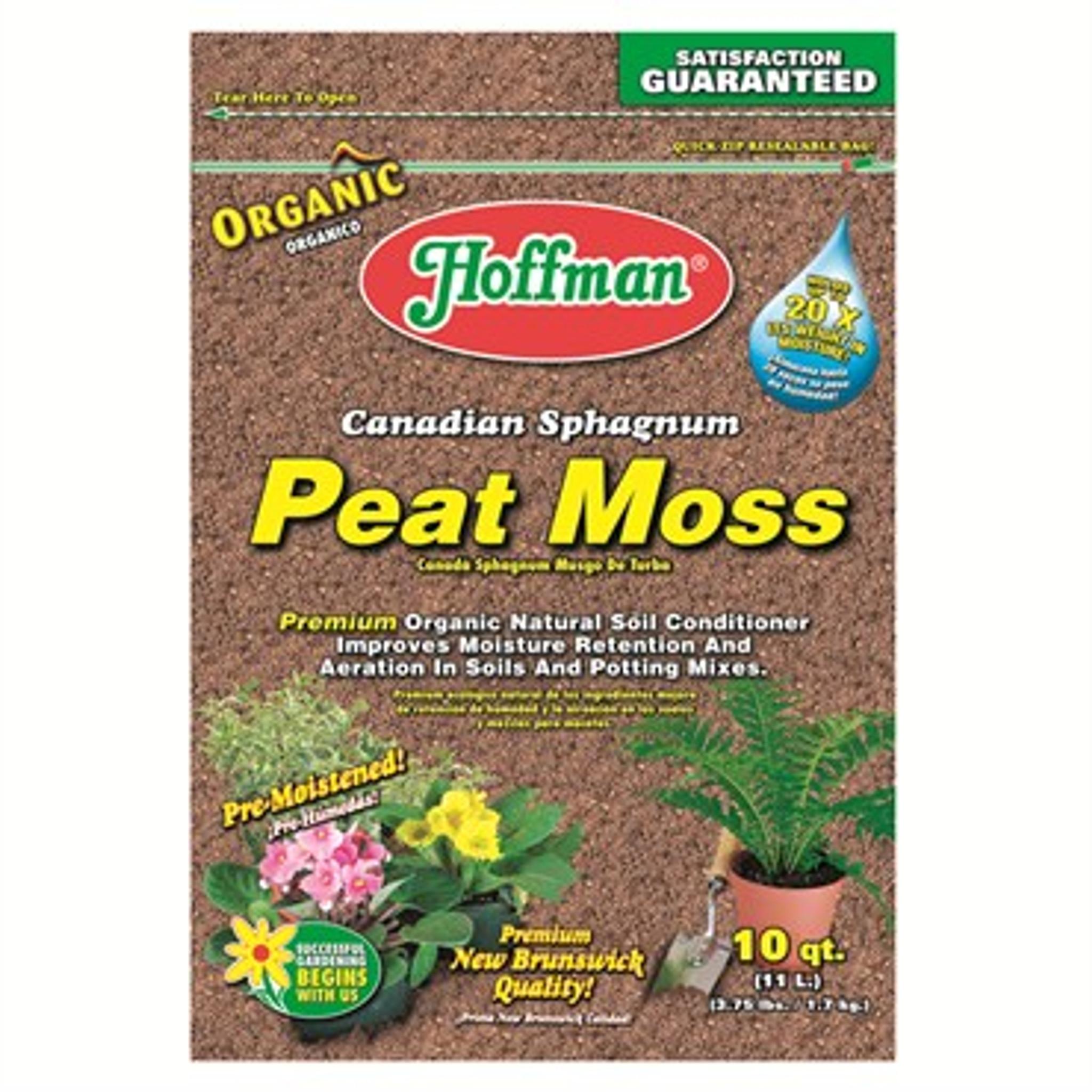 Hoffman Canadian Sphagnum Peat Moss 10qt Urban Garden Center