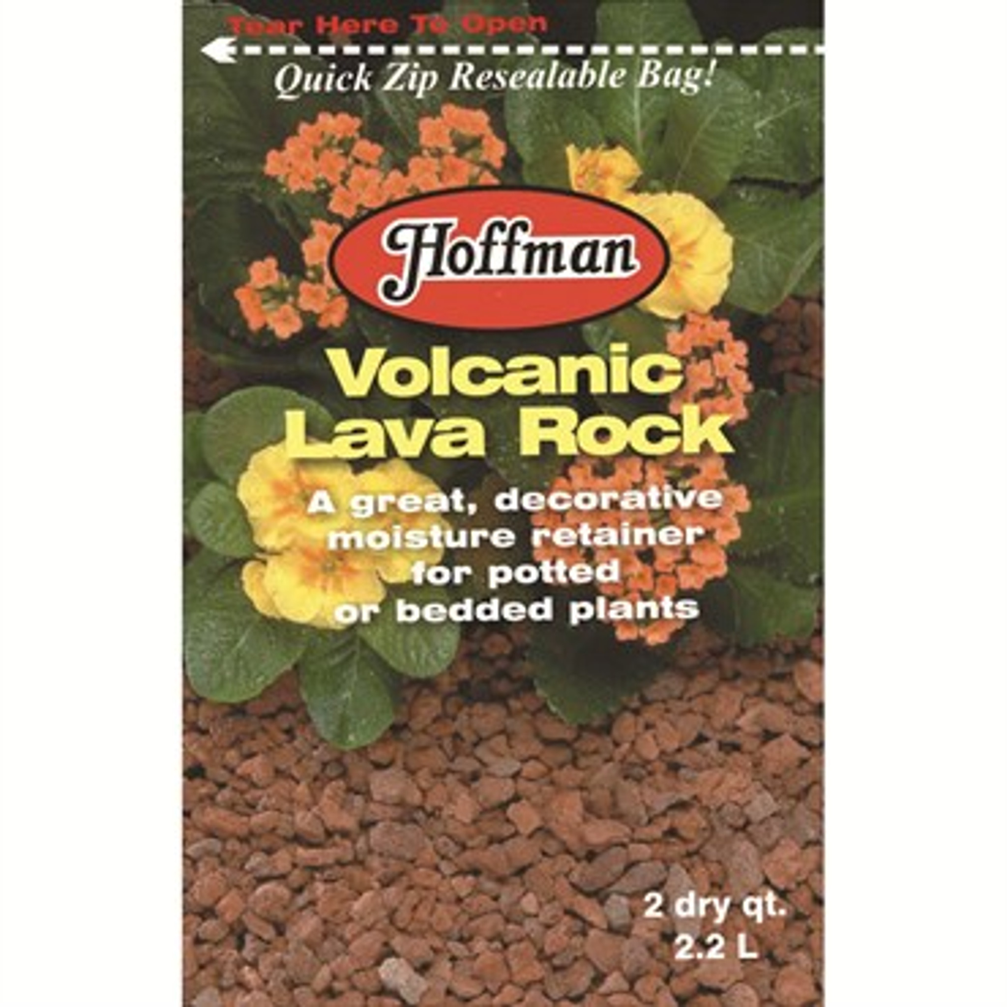 Hoffman Volcanic Lava Rock 2qt Urban Garden Center