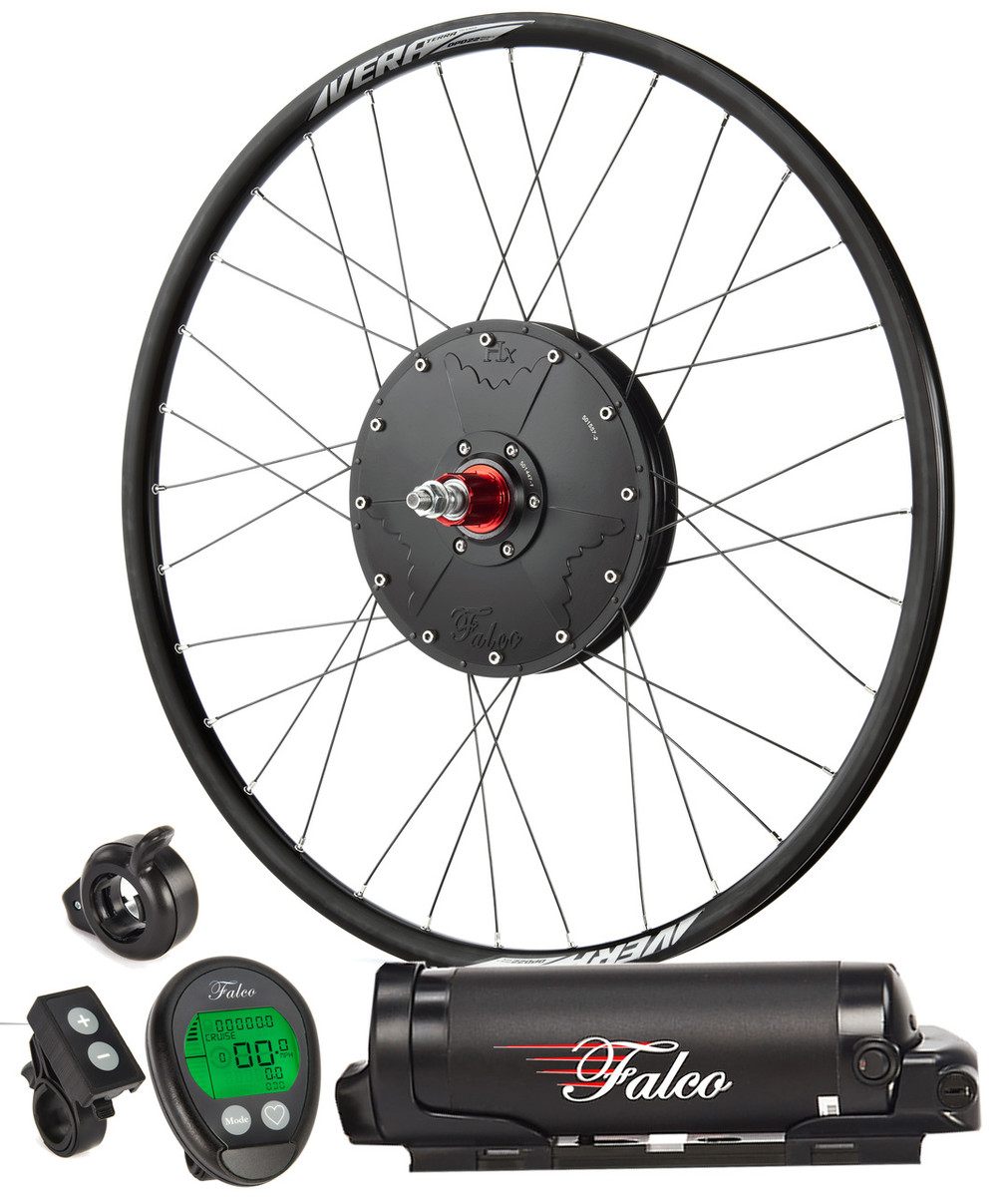 Falco e5.3 System (2021 Model) - 500W/400Wh includes fully built wheel, battery console, plus minus, throttle etc.