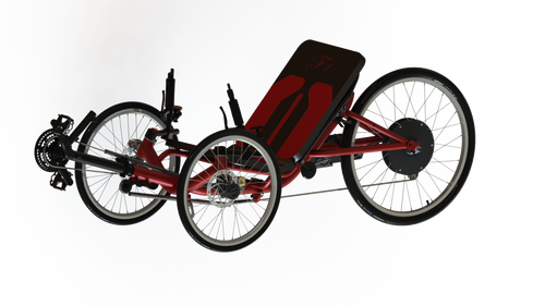 F1 Trike Red Color