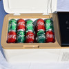 Sunolar SooCold Portable Travel Fridge 30 Quart, Mini-Fridge, Refrigerator, Freezer, for Car, Auto, Truck, RV, Boat, Trailer, Beach, Picnic, Camping with 12v-24vDC and 110vAC Power Adapters