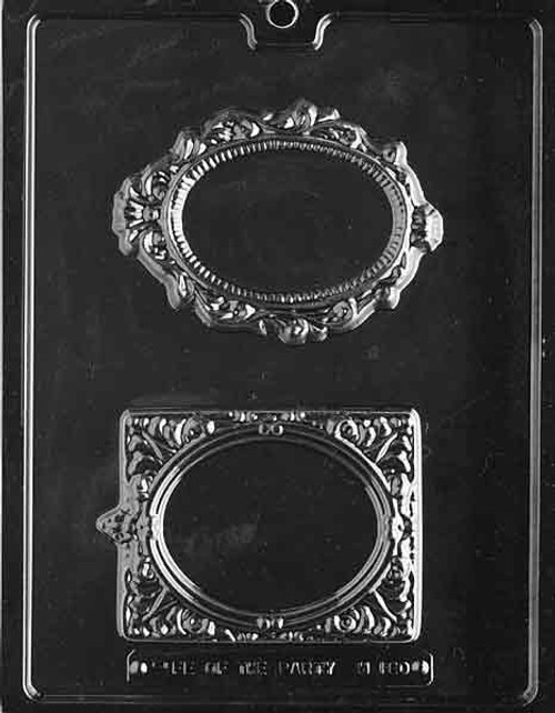 LOTP Fancy Frames Chocolate Mold M180