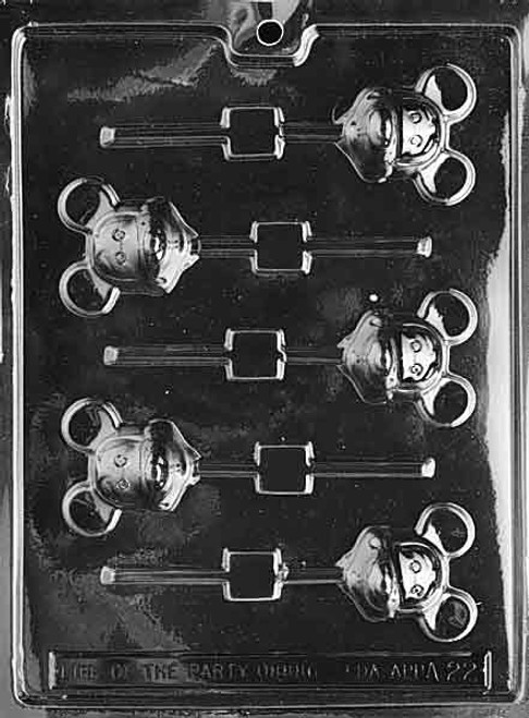 LOTP Mouse Pop Chocolate Mold A022