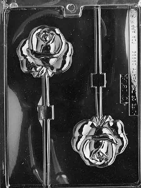 LOTP Rose Pop Chocolate Mold F060