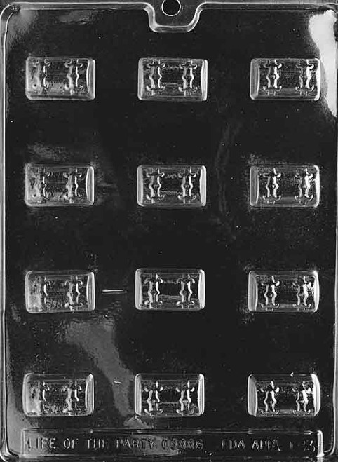 LOTP Treasure Chest Chocolate Mold AO083