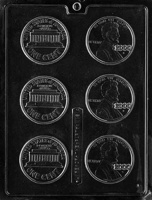 LOTP Year 2000 Pennies Chocolate Mold M161