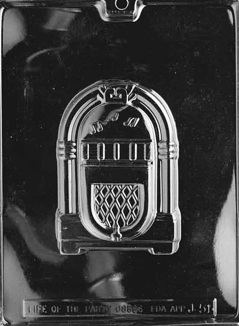 LOTP Juke Box Chocolate Mold J051