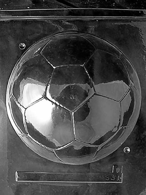 LOTP 3D Soccer Ball Chocolate Mold S301B